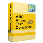 ABC Amber Text Converter 2.09 + Crack