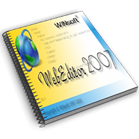 WINsoft WebEditor 2007 Beta 2 (6.0.78)
