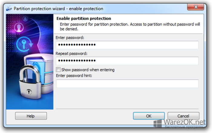 disk password protection 5.4.3 license key